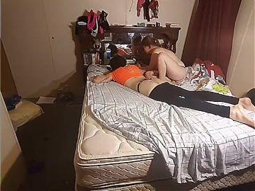 Sissy Boyfriend Takes Good Strapon Pounding From His GF