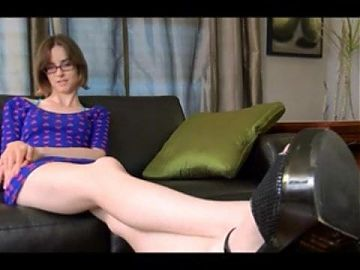 Humiliation JOI, High heels