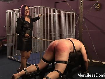 Caned and In Pain - Cruel British Domination